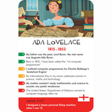 History Heroes - Inventors, Ada Lovelace sample card