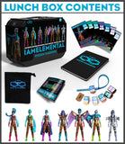 Series 2 / Wisdom Lunchbox with 7 Action Figures - IAmElemental, lunch box contents