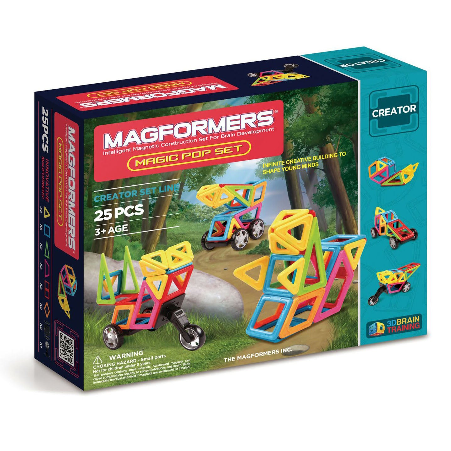 Magformers Magic Pop - Magnetic Construction Set, boxed
