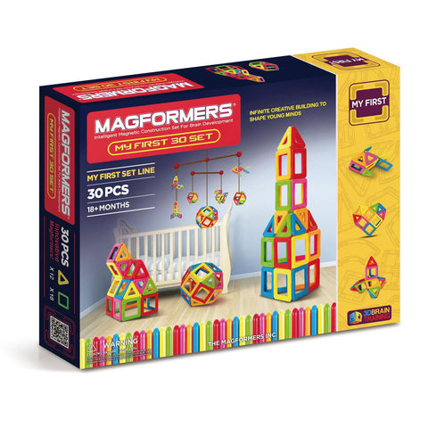 Magformers My First 30 - Magnetic Construction Set