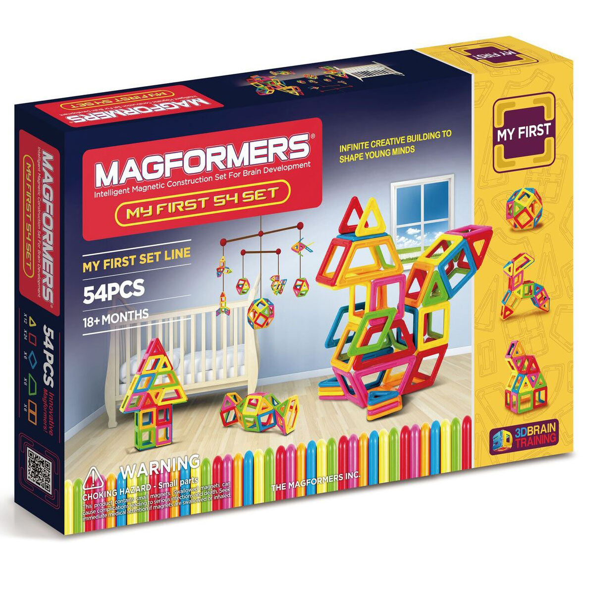 Magformers My First 54 - Magnetic Construction Set