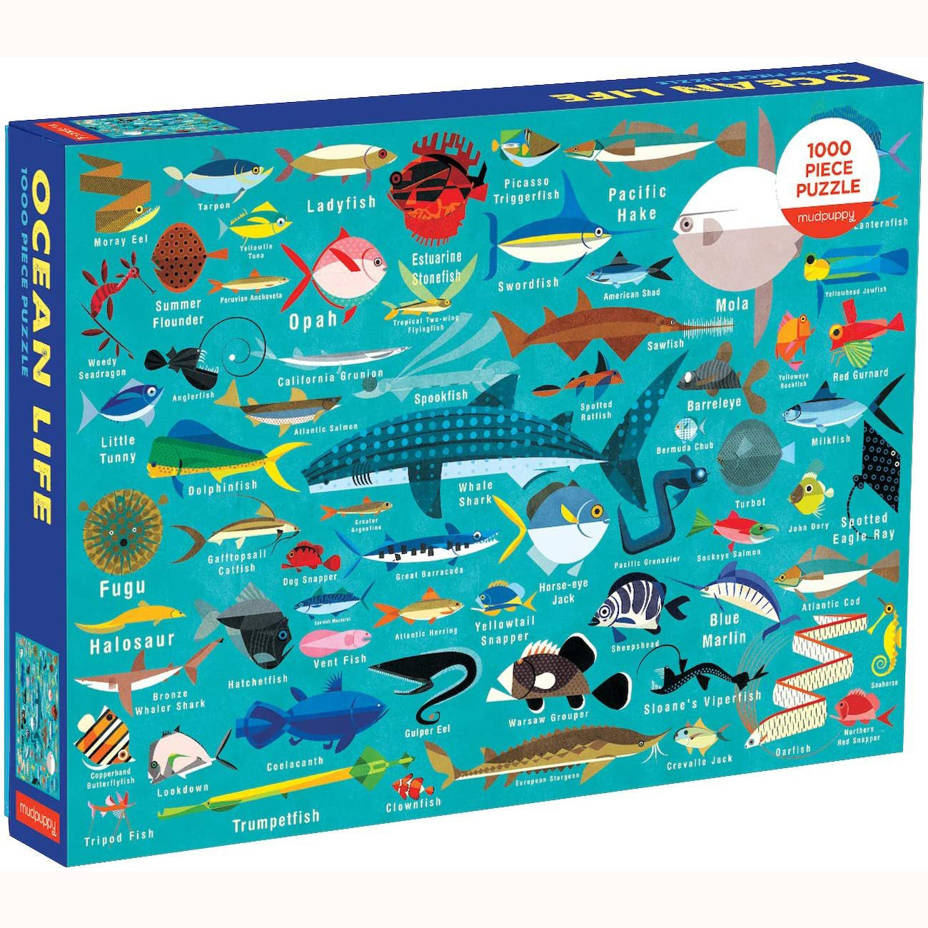 Ocean Life Puzzle, boxed