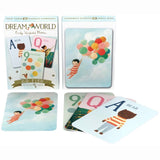 Dream World Go Fish - Card Game, with sample cards displayed