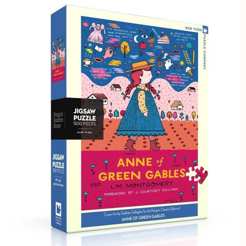 Anne of green gables puzzle, front of box on slant