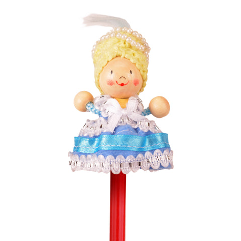 Marie Antoinette pencil topper close up