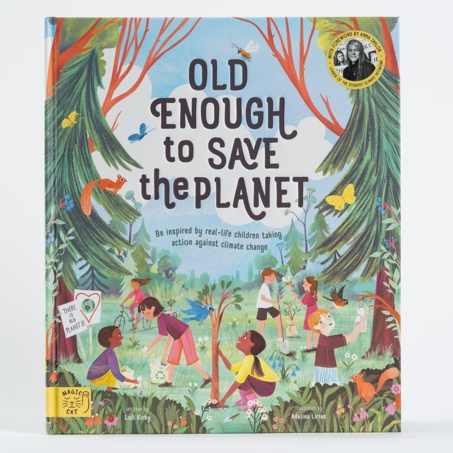 Old enough to save the planet, front cover