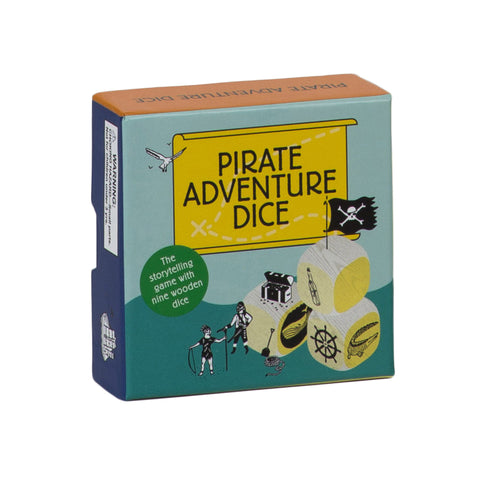 Pirate Adventure Dice box