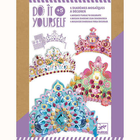 DIY Mosaic Tiaras, front of box