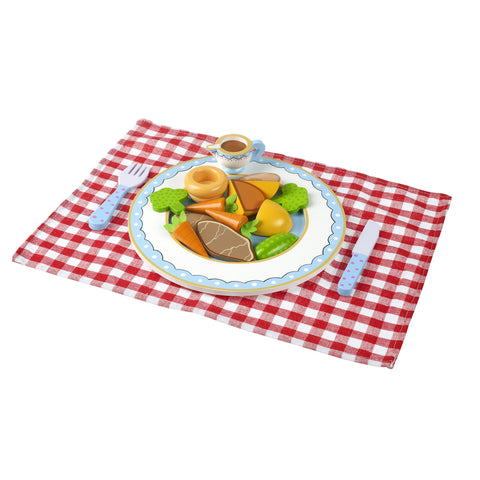 Roast Dinner Set - Wooden Play Food