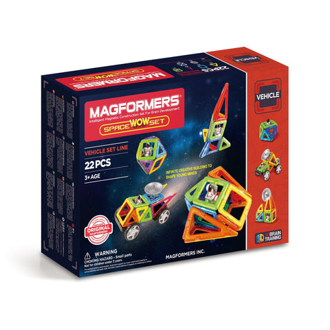 Magformers Space Wow Set - 22 pieces