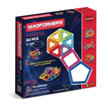 Magformers 62 - Magnetic Construction Set, boxed