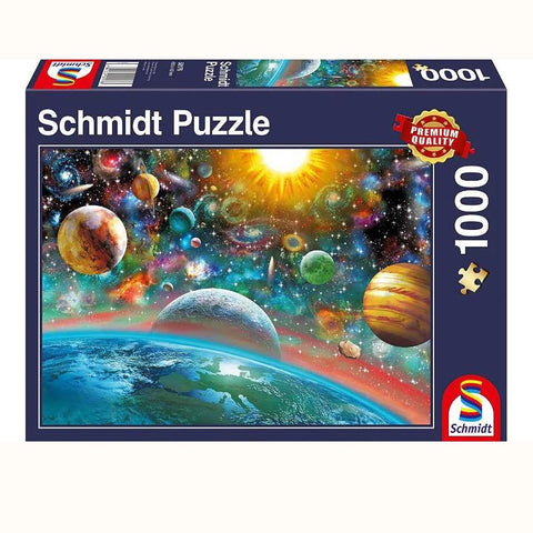 Outer Space Jigsaw Puzzle - front of box