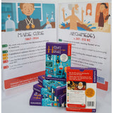 History Heroes - Scientists, boxes and sample cards promo