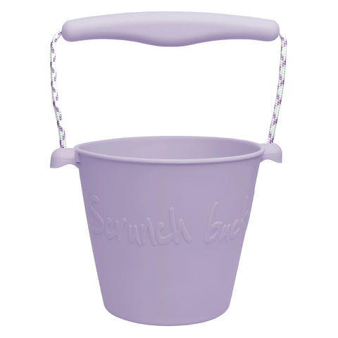 Scrunch Bucket - Pale Lavender