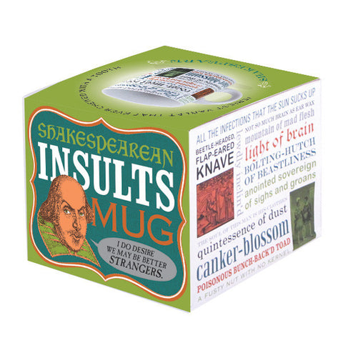 Shakespearean Insults Mug boxed