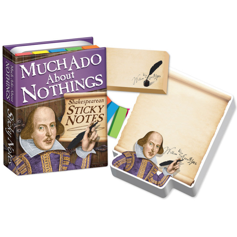 Much Ado About Nothings - Shakespearean Sticky Notes