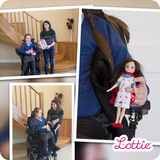 True Hero Lottie Doll (Hospital Stay), with real life inspiration girls