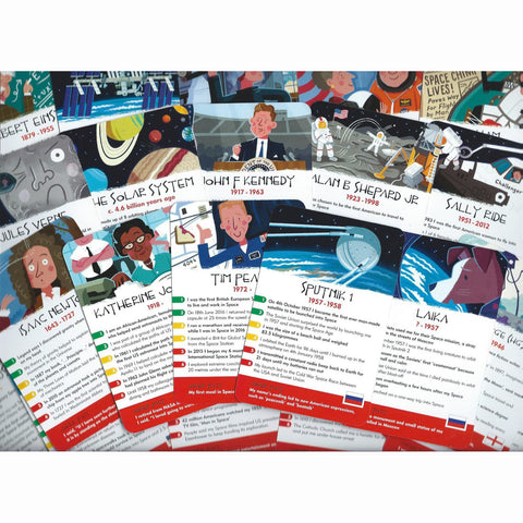 History Heroes - Space, large selection of cards