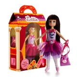 Spring Celebration Ballet Lottie Doll, doll next to boxed doll