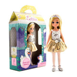 Swan Lake Ballerina Lottie Doll, boxed and unboxed doll