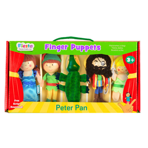 Peter Pan puppets boxed