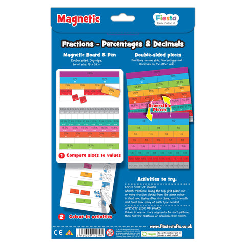 Magnetic Fractions Back Cover