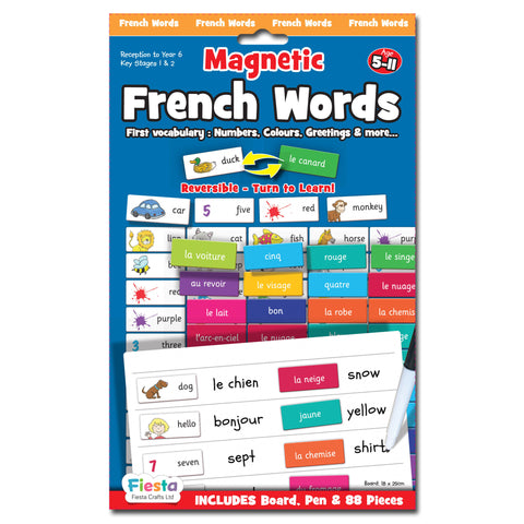 Magnetic French Words Front Cover