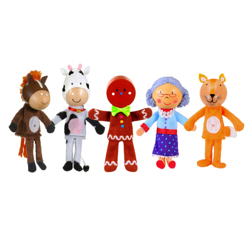 Gingerbread puppets unboxed