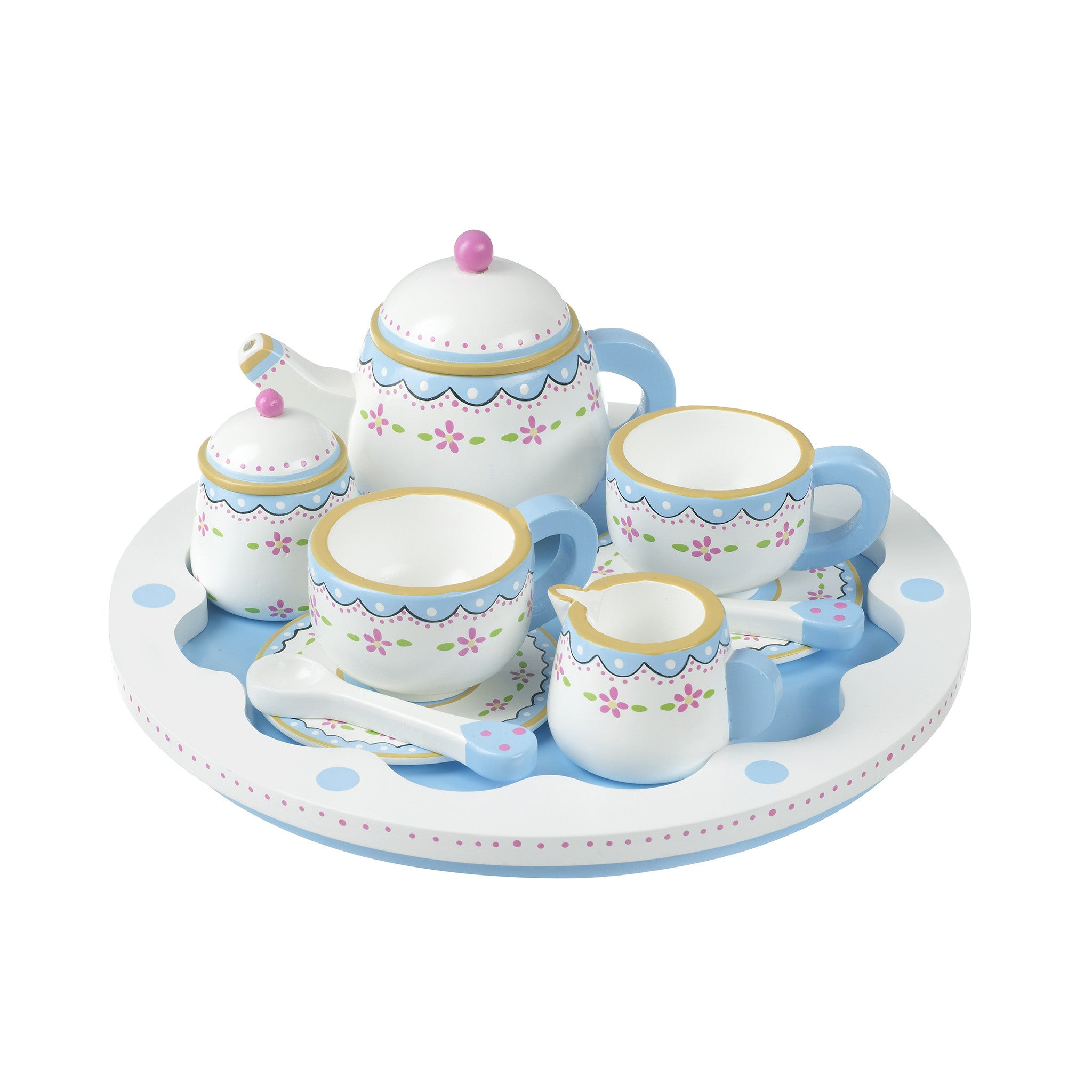 Tea Set & Tray
