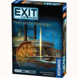 Exit game theft on mississipi , front of box