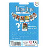 Timeline - Events, back of packaging