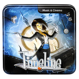 Timeline - Music & Cinema Card Game, tin