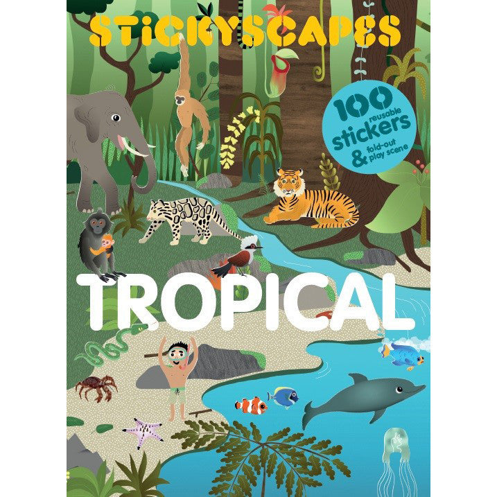 Stickyscapes Tropical Adventure