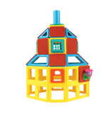 Magformers Village Set - 110 pieces, building detail