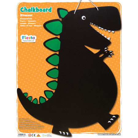 Dinosaur Chalkboard, in packaging