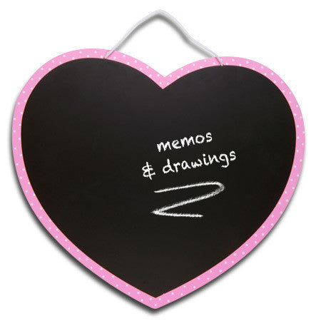 Heart Chalkboard out of packaging