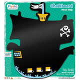 Pirate Ship Chalkboard in packaging