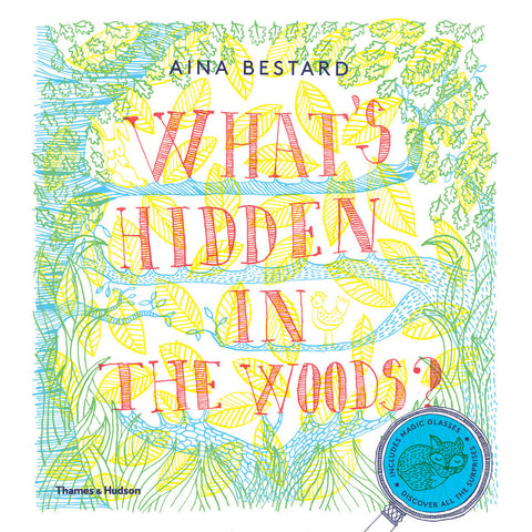 What's Hidden In The Woods? Book with Magic Glasses