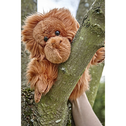 Orangutan Glove Puppet in tree