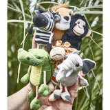 African Animals Finger Puppets - Set of 6