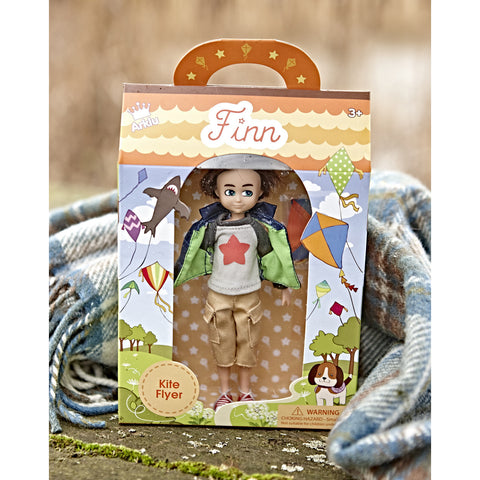 Kite Flyer Finn doll from Lottie range