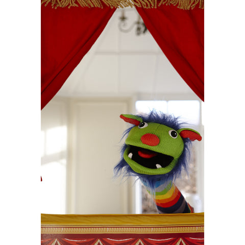 Sockettes - Rainbow Hand Puppet in theatre