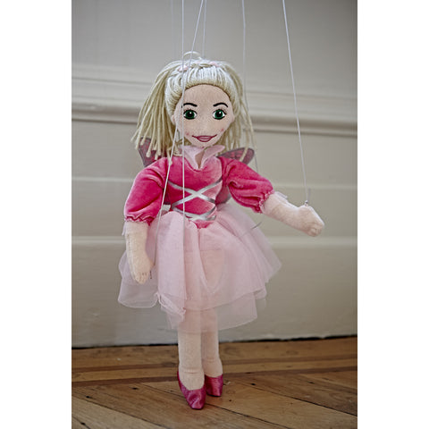 Marionette Characters- Fairy Ballerina on floorboards