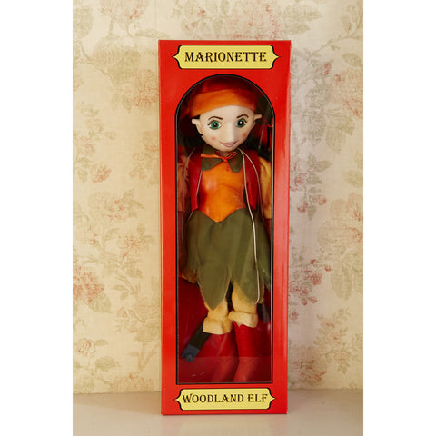 Marionette Characters - Woodland Elf Girl in box