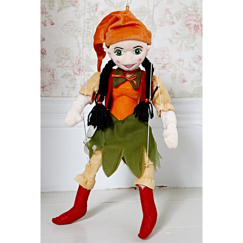 Marionette Characters - Woodland Elf Girl
