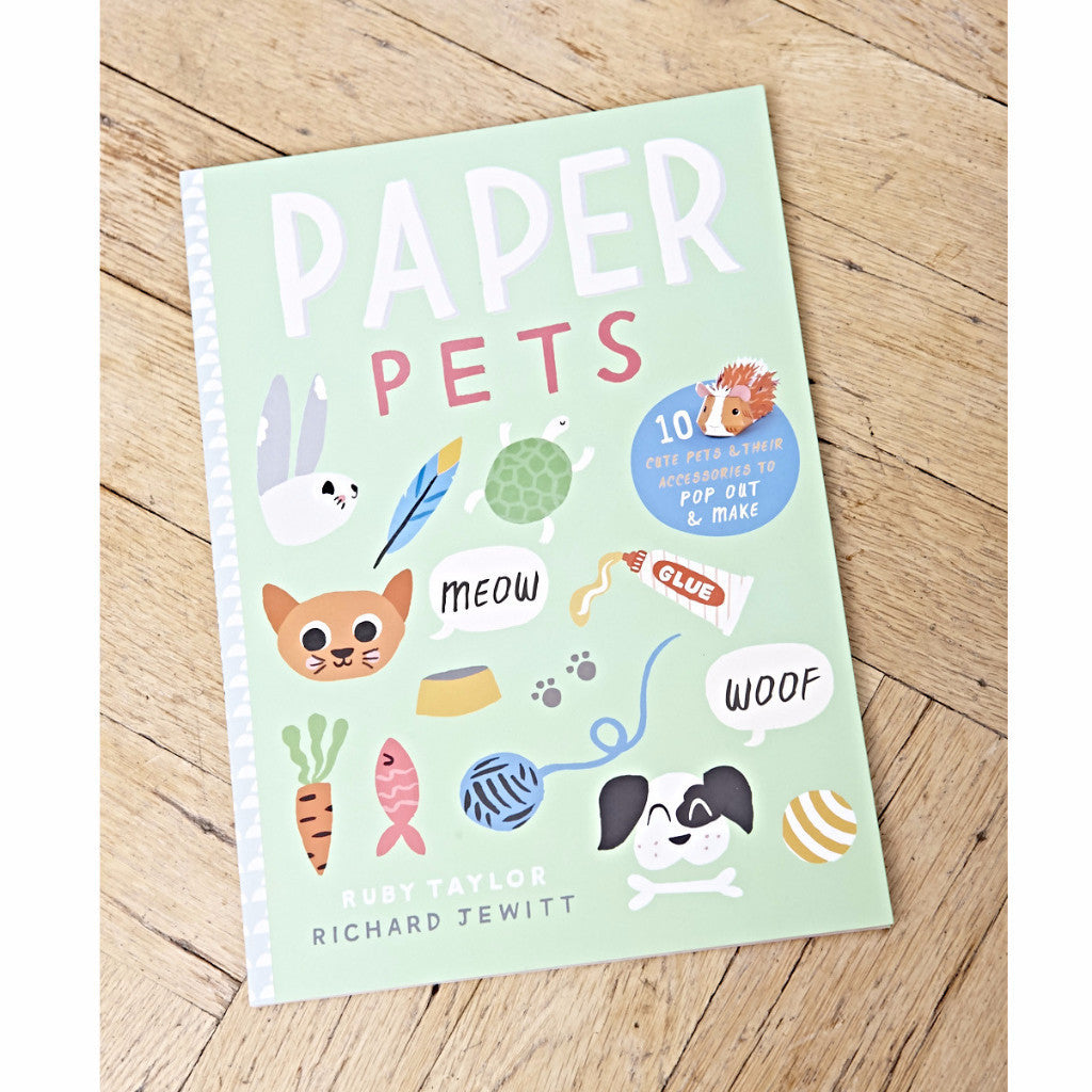 Paper Pets - Pop Out & Make