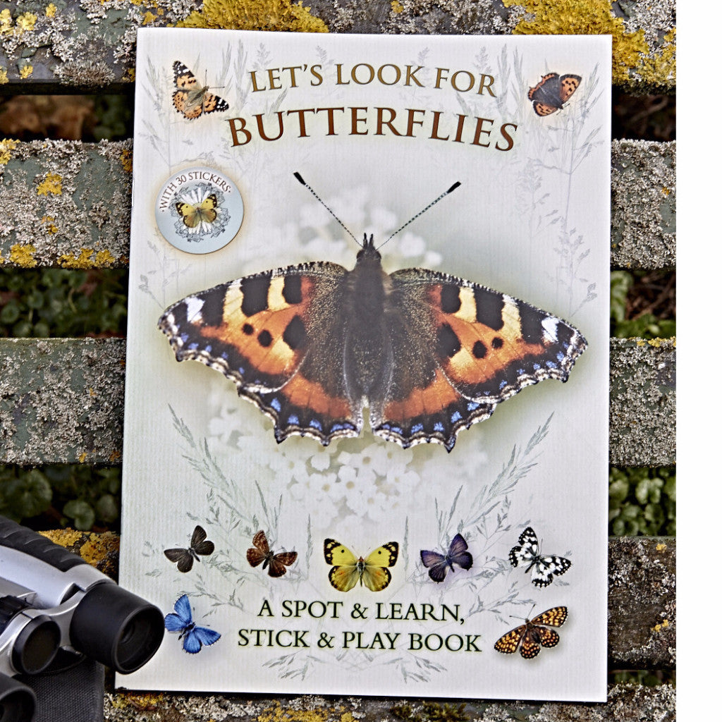 Let's Look For Butterflies: A Natural History Activity Book