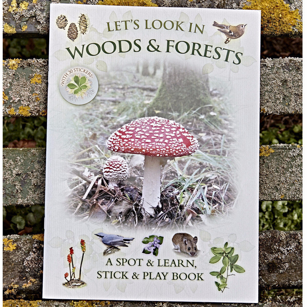 Let's Look in Woods & Forests: A Natural History Activity Book