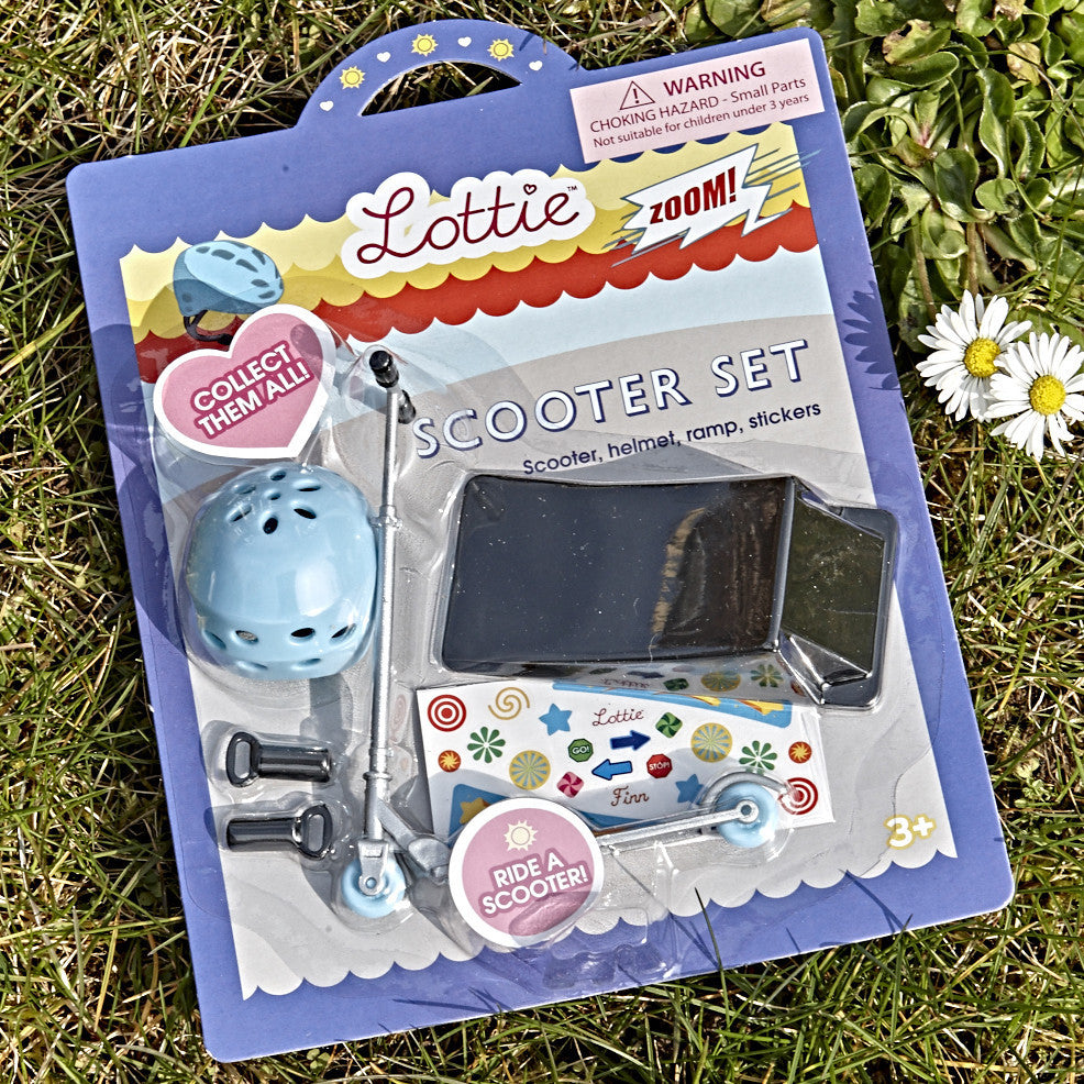 Scooter Set - Lottie Doll Accessory