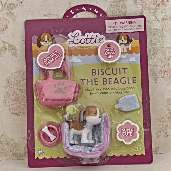 Biscuit the Beagle - Lottie Doll Accessory Set